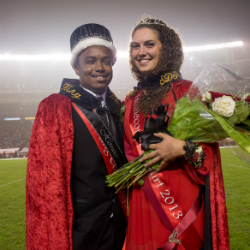 2013 Homecoming King and Queen