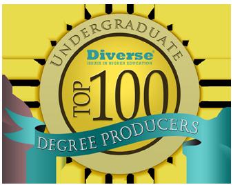 top 100 undergrad logo