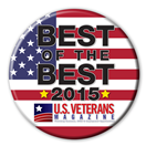 US Veterans Magazine Button
