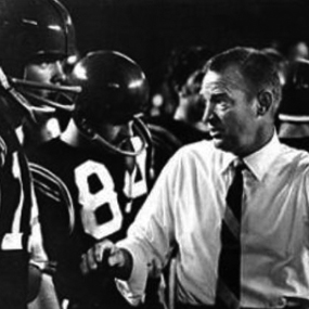SDSU coach Don Coryell, shown in 1961, pioneered football's air-oriented attack.