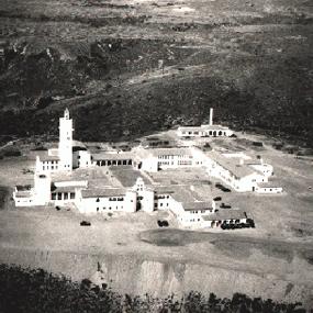 SDSU's new campus on Montezuma Mesa in 1930