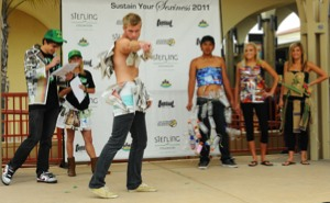 Photo: EnviroFashion Show, 2011 participants