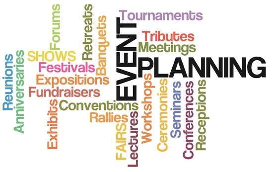Event Planning terms