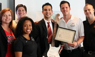 Photo: Food bank award recipients