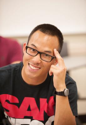 Photo: SDSU student