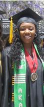 Photo: Student graduating