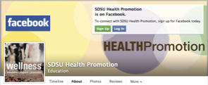 SDSU Health Promotion Department Facebook page