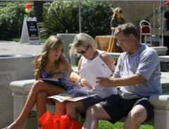 Photo: SDSU parents and student